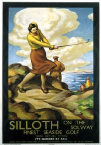 Silloth on Solway, Cumbria. Vintage LNER Travel Poster by Stanislaus Brien. 1932